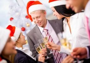 Новогодние корпоративы в нашем ресторане