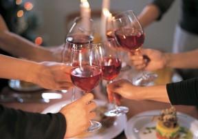 Новогодние встречи с друзьями в нашем ресторане