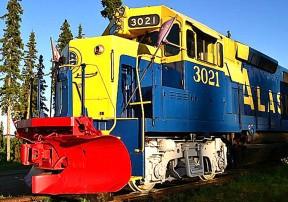 Aurora Express – жемчужина Аляски